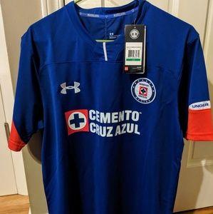 Cruz Azul FC Home Soccer Under Armour  LG Jersey